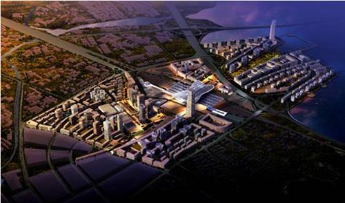 青岛北站是山东半岛蓝色经济区的交通枢纽,位于青岛李沧区